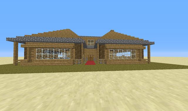 Maison architecte minecraft - Minecraft exemple de maison ...