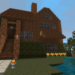 maison architecte minecraft