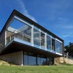 maison architecte terrain pentu
