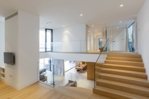 maison contemporaine 2 etage