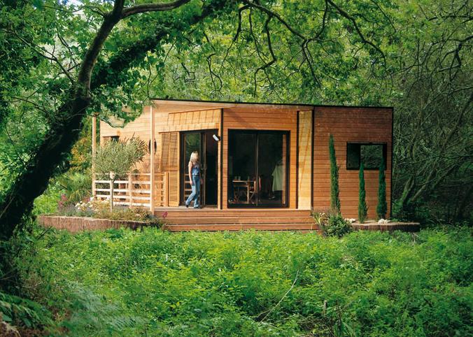 maisons en bois kit