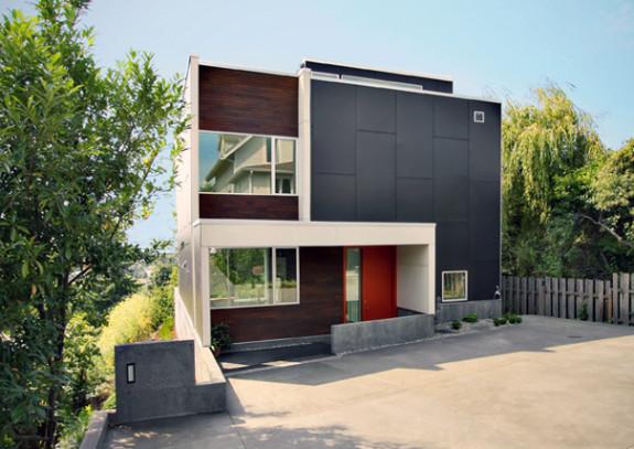 idée maison moderne carré