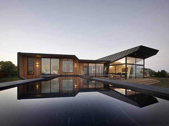 maison moderne d architecte. Black Bedroom Furniture Sets. Home Design Ideas