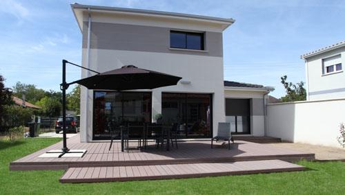exemple maison moderne etage - Maison Moderne Ville