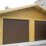 chalet bois garage