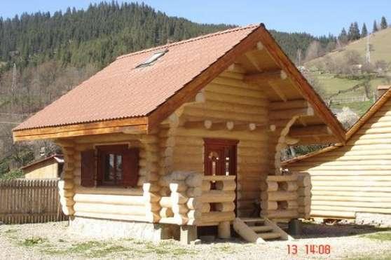 Chalet Bois Roumanie