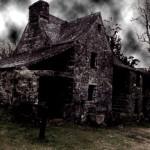 image maison hantee halloween