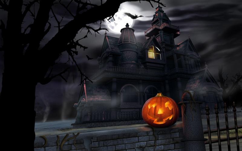 maison hantee halloween 2016