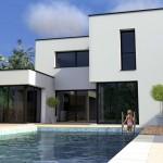 photo de maison contemporaine