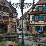 photo de maisons alsaciennes
