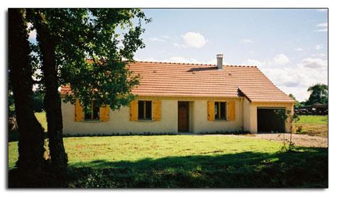 photo de maisons neuves