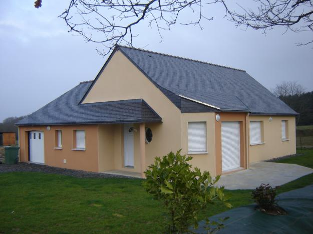 photo de maisons neuves