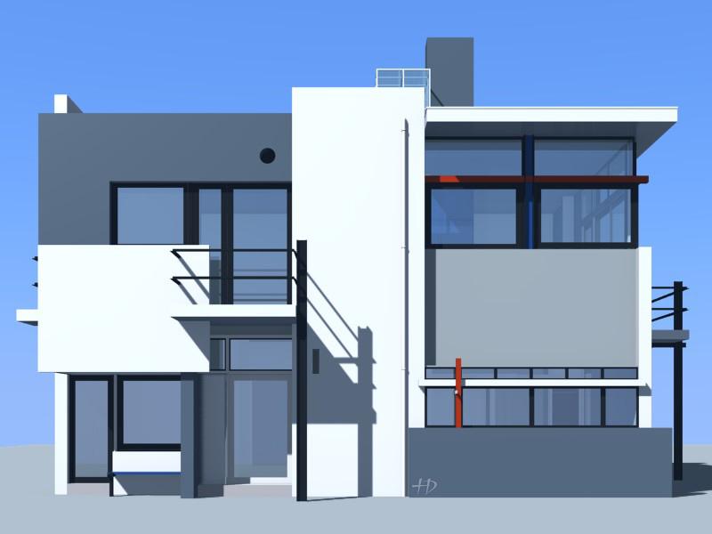 facade de maison moderne tendance