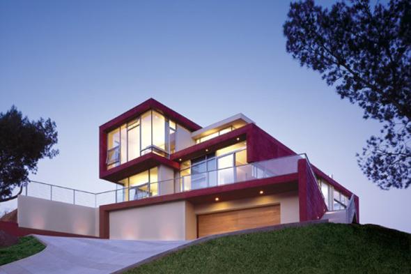 belle photo maison moderne cube