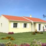 photo maison neuve en construction