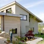 photo maison neuve moderne