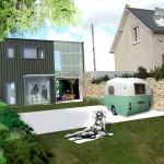 photo petite maison d'architecte