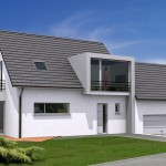 photos de maisons modernes neuves