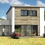 photos facades de maisons modernes