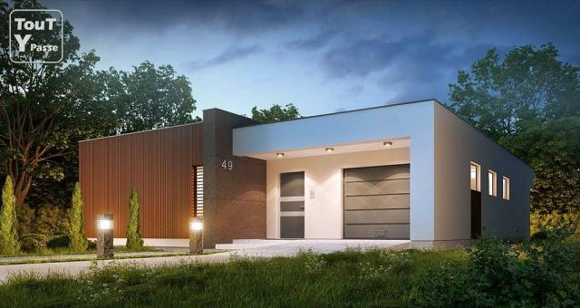 maison en kit contemporaine