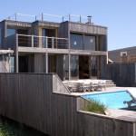 photo de maison originale contemporaine toit plat