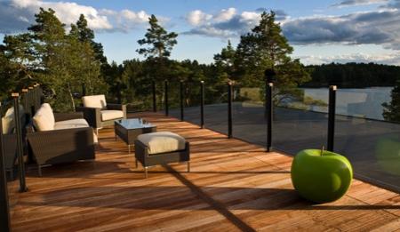 de maison en kit avec piscine toit plat Construction