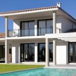 photo de maison provencale moderne