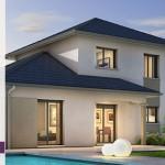 maison neuve moderne