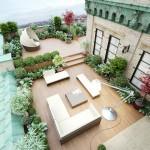 photo de maison de star avec piscine toit plat