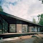 photo de maison de ville toit plat