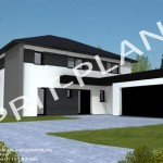 photo de maison design contemporaine