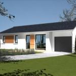 photo de maison moderne