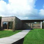 photo de maison neuve avec piscine toit plat