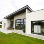 photo de maison neuve moderne toit plat
