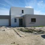 photo de maison toit plat