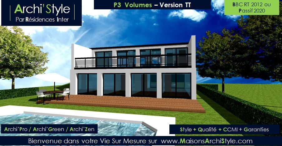 design d'architecte toit plat achat
