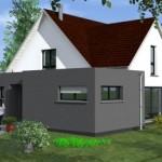 maison originale toit plat
