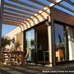 maison provencale d'architecte toit plat