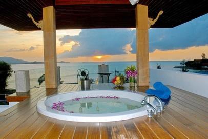 de maison des iles avec piscine toit plat 2014