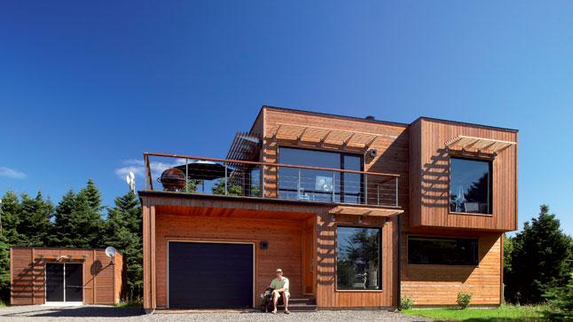 de maison des iles avec piscine toit plat tendance