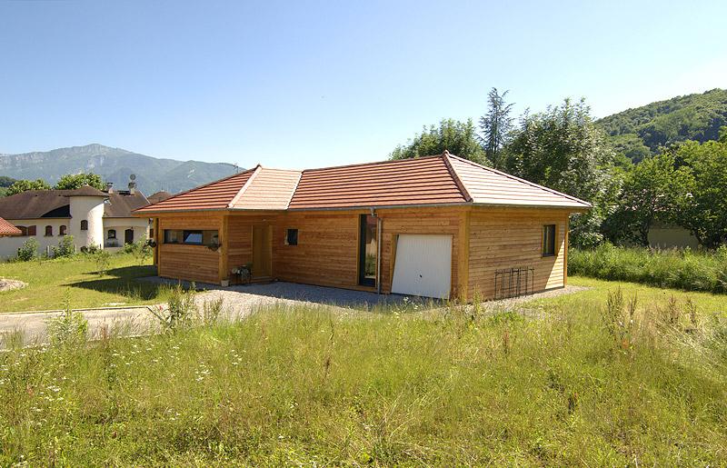 maison bois en v
