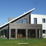 maison contemporaine en bois