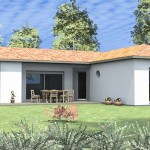 maison contemporaine modele