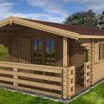 maison en bois nordique