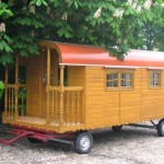 chalet bois mobile
