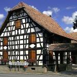 image maison alsacienne