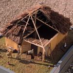 image maison paysan moyen age