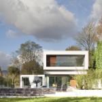maison contemporaine jardin