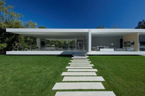 maison contemporaine rectangulaire
