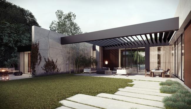 maison contemporaine zen